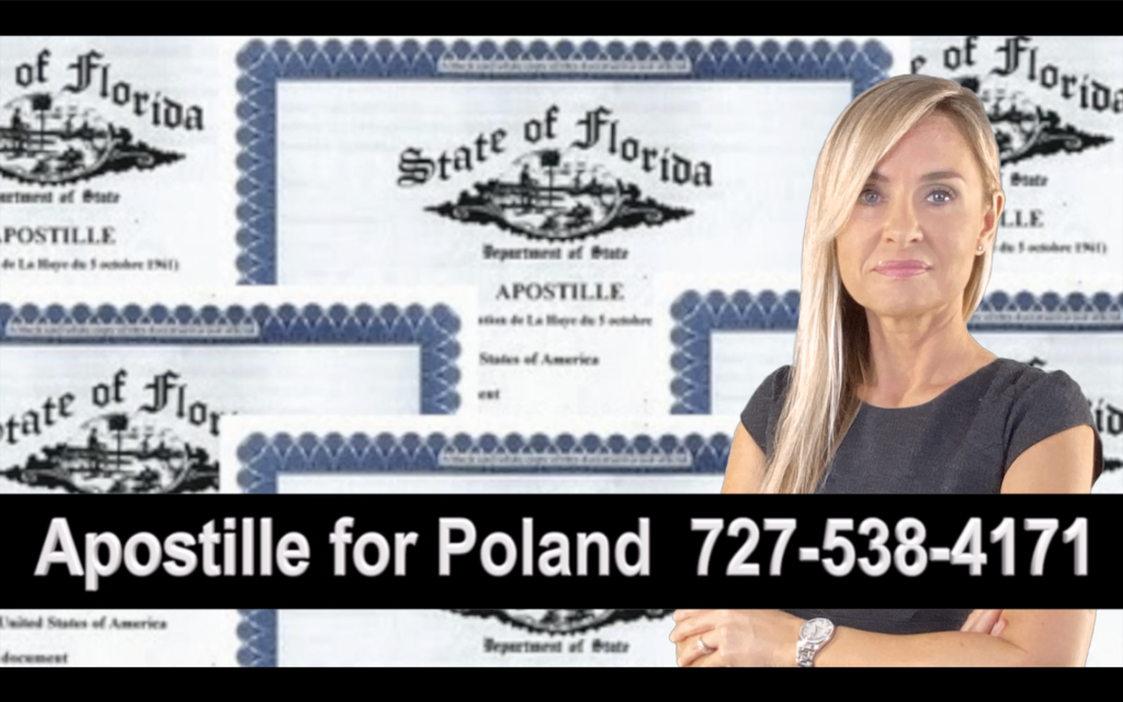 Greater Carrollwood Apostille, Notary, Polish, Polski, Notariusz, Pełnomocnictwo, Power of Attorney, Agnieszka Piasecka, Aga Piasecka