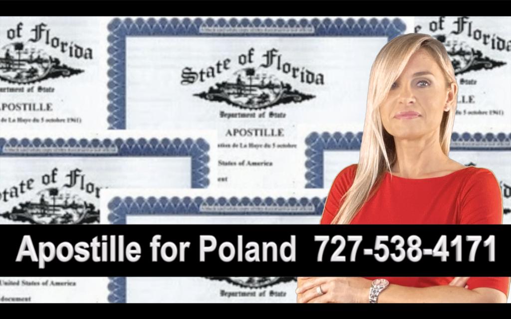 Jacksonville, Apostille, Notary, Polish, Polski, Notariusz, Pełnomocnictwo, Power of Attorney, Agnieszka Piasecka, Aga Piasecka