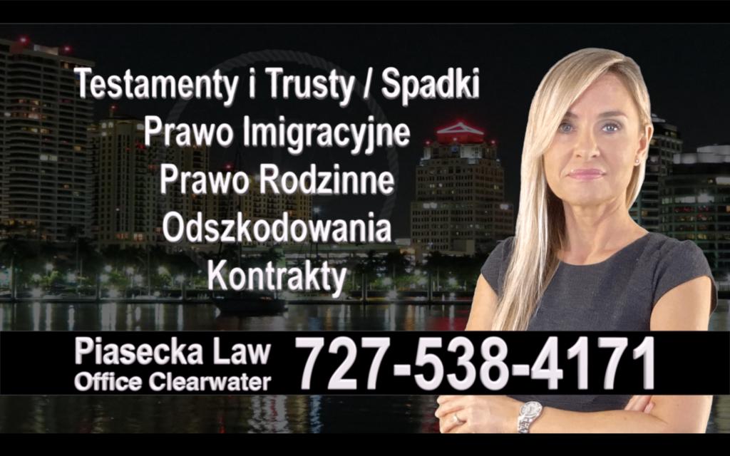 Dunedin Polski, Prawnik, Adwokat, Testamenty, Trusty, Testament, Trust, Prawo, Spadkowe, Imigracyjne, Rodzinne, Rozwód, Wypadki, Agnieszka Piasecka