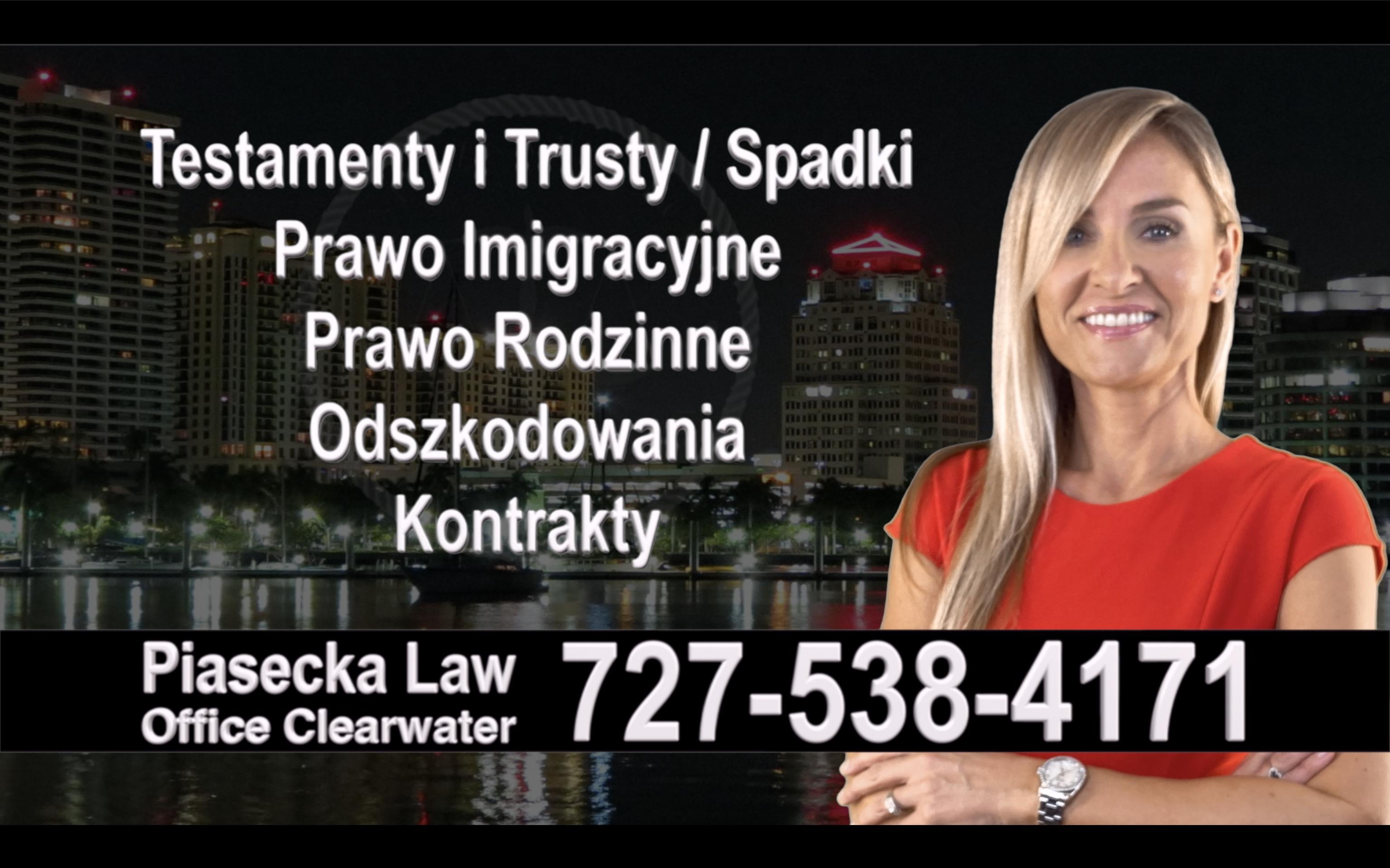 Englewood Polski, Prawnik, Adwokat, Testamenty, Trusty, Testament, Trust, Prawo, Spadkowe, Imigracyjne, Rodzinne, Rozwód, Wypadki, Agnieszka Piasecka