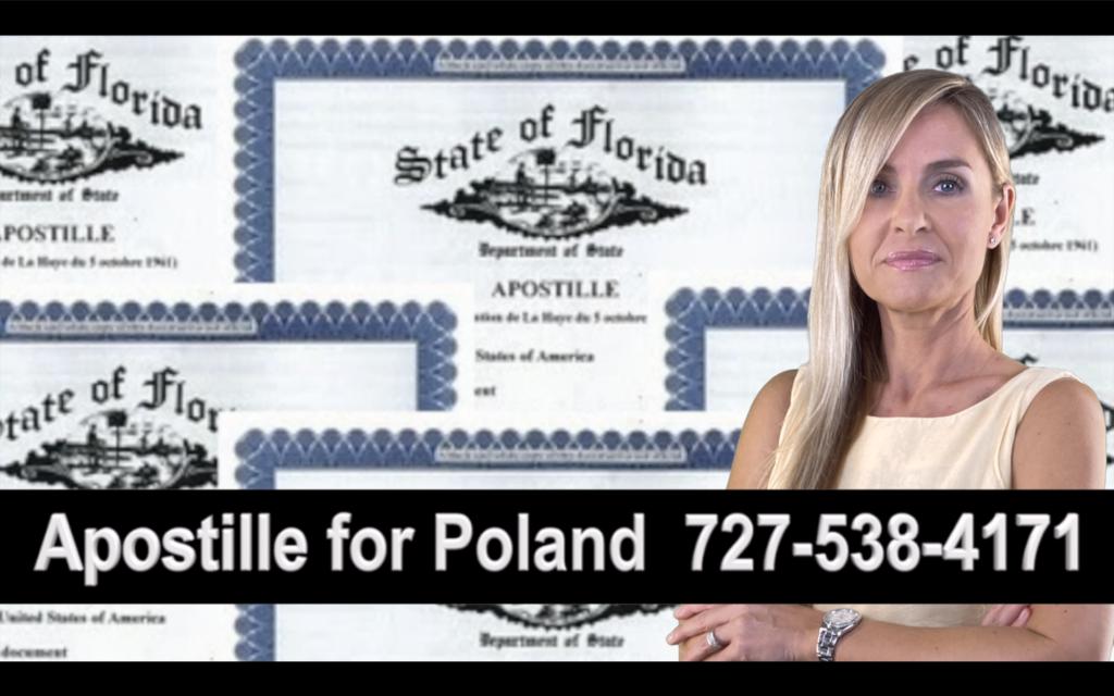 The Villages Apostille, Notary, Polish, Polski, Notariusz, Pełnomocnictwo, Power of Attorney, Agnieszka Piasecka, Aga Piasecka