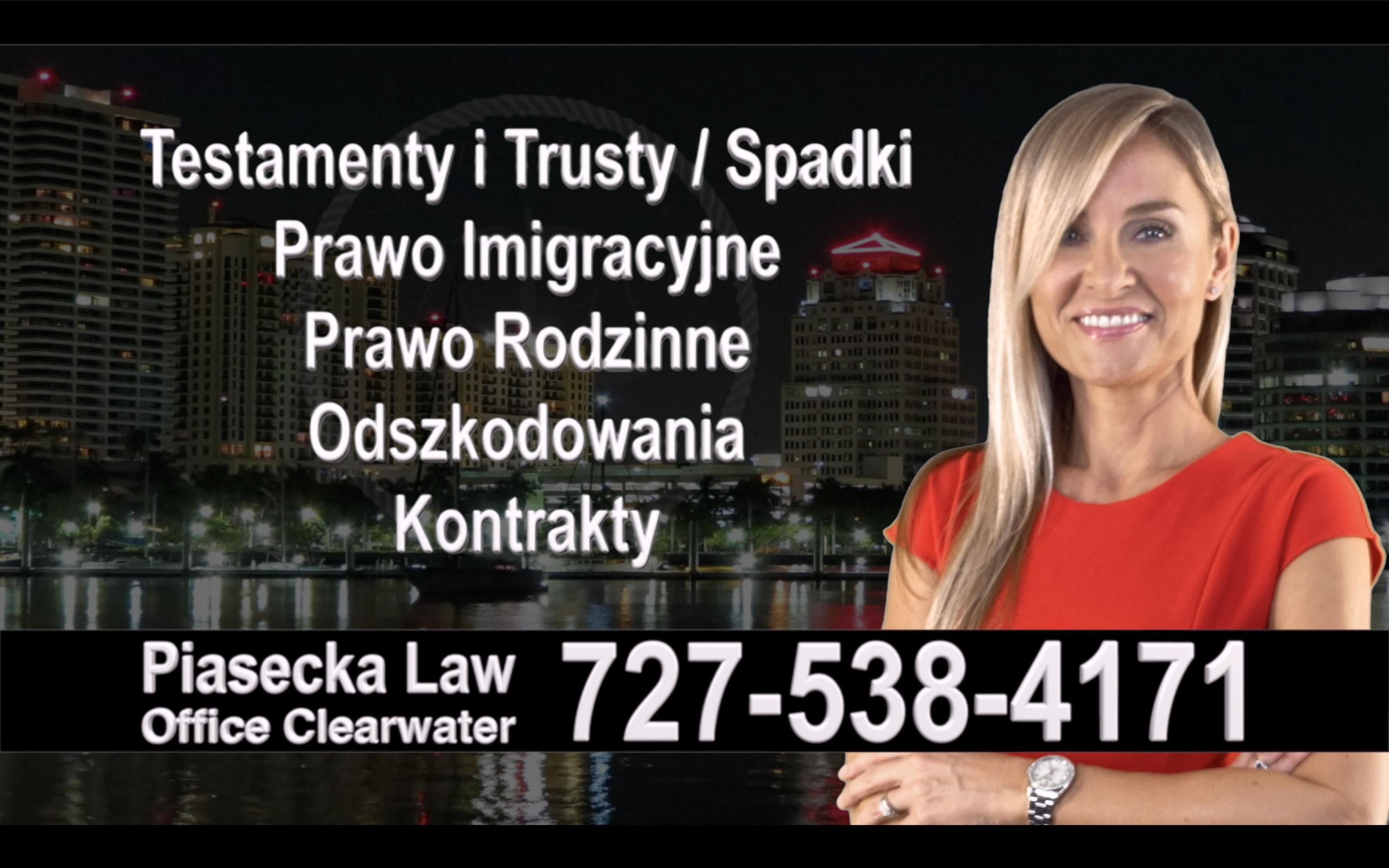 Estero Polski, Prawnik, Adwokat, Testamenty, Trusty, Testament, Trust, Prawo, Spadkowe, Imigracyjne, Rodzinne, Rozwód, Wypadki, Agnieszka Piasecka