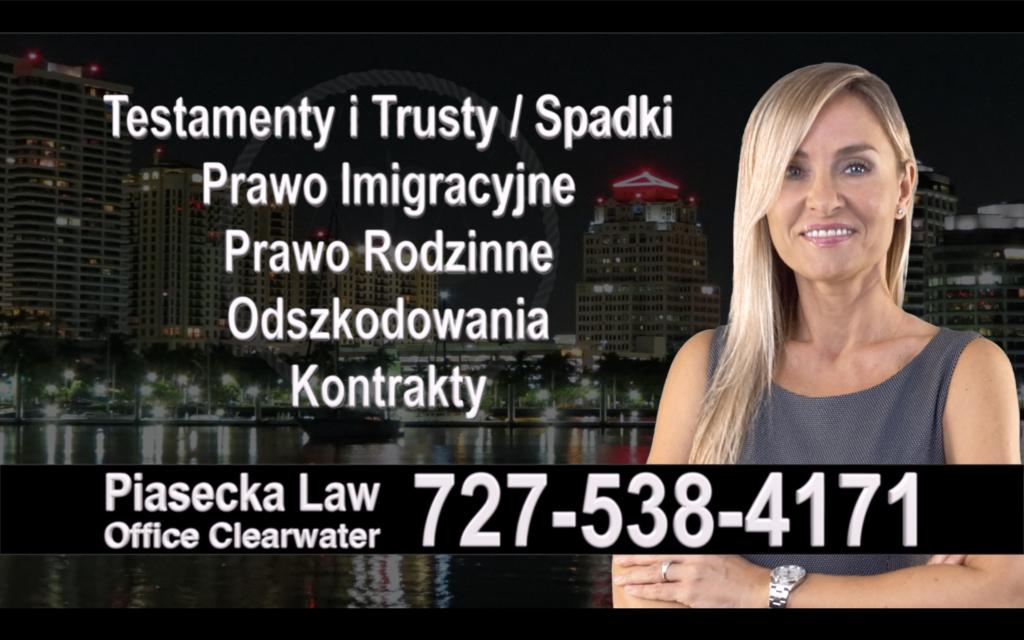 Altamonte Springs Polski, Prawnik, Adwokat, Testamenty, Trusty, Testament, Trust, Prawo, Spadkowe, Imigracyjne, Rodzinne, Rozwód, Wypadki, Agnieszka Piasecka