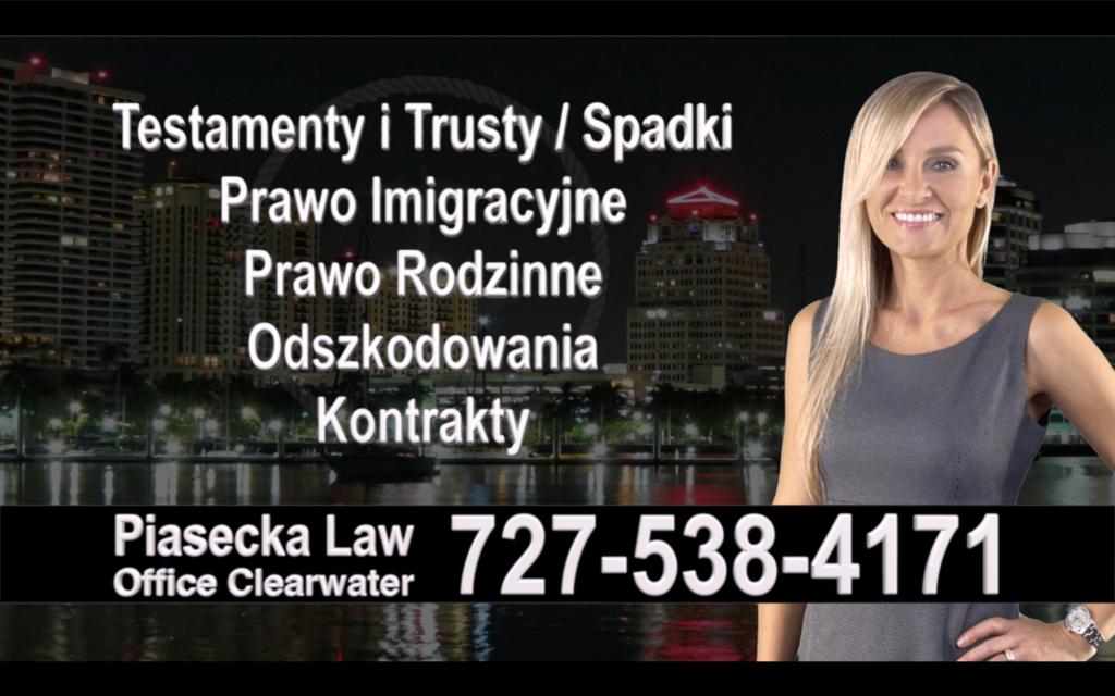 Anna Maria Polski, Prawnik, Adwokat, Testamenty, Trusty, Testament, Trust, Prawo, Spadkowe, Imigracyjne, Rodzinne, Rozwód, Wypadki, Agnieszka Piasecka