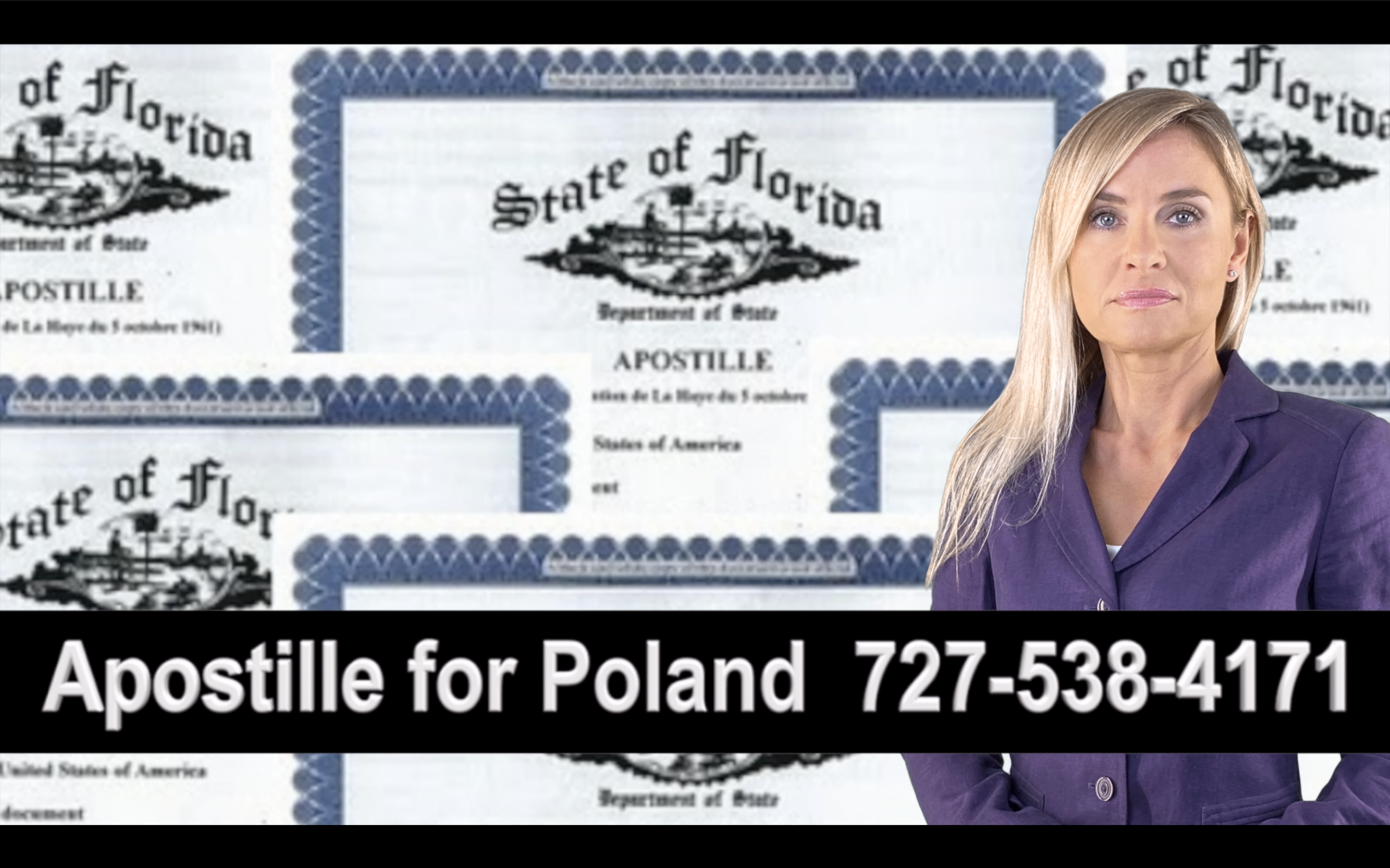 Port Richey Apostille, Notary, Polish, Polski, Notariusz, Pełnomocnictwo, Power of Attorney, Agnieszka Piasecka, Aga Piasecka
