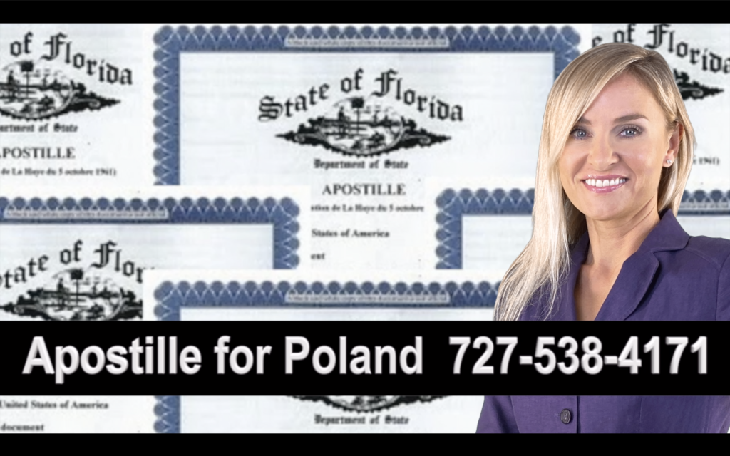 Port Charlotte Apostille, Notary, Polish, Polski, Notariusz, Pełnomocnictwo, Power of Attorney, Agnieszka Piasecka, Aga Piasecka