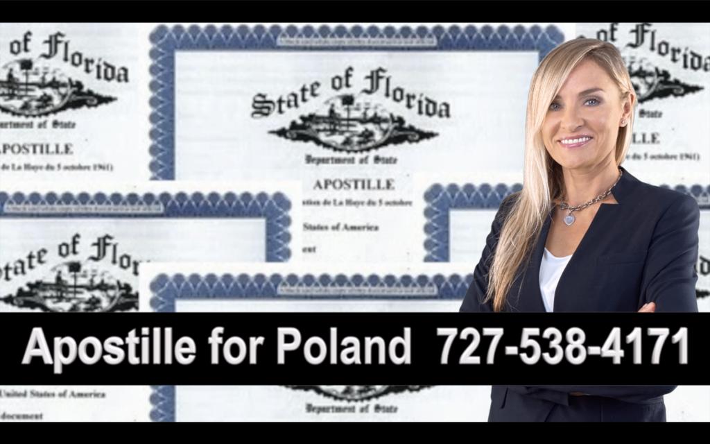 Polk County Apostille, Notary, Polish, Polski, Notariusz, Pełnomocnictwo, Power of Attorney, Agnieszka Piasecka, Aga Piasecka