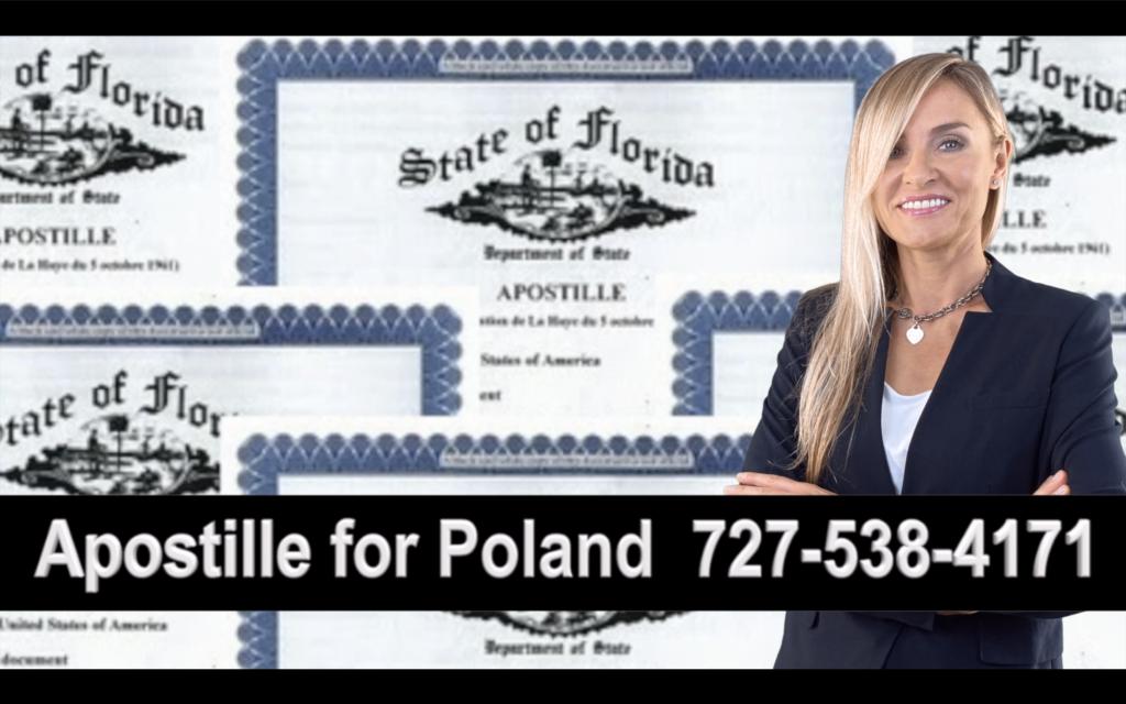 Plant City Apostille, Notary, Polish, Polski, Notariusz, Pełnomocnictwo, Power of Attorney, Agnieszka Piasecka, Aga Piasecka