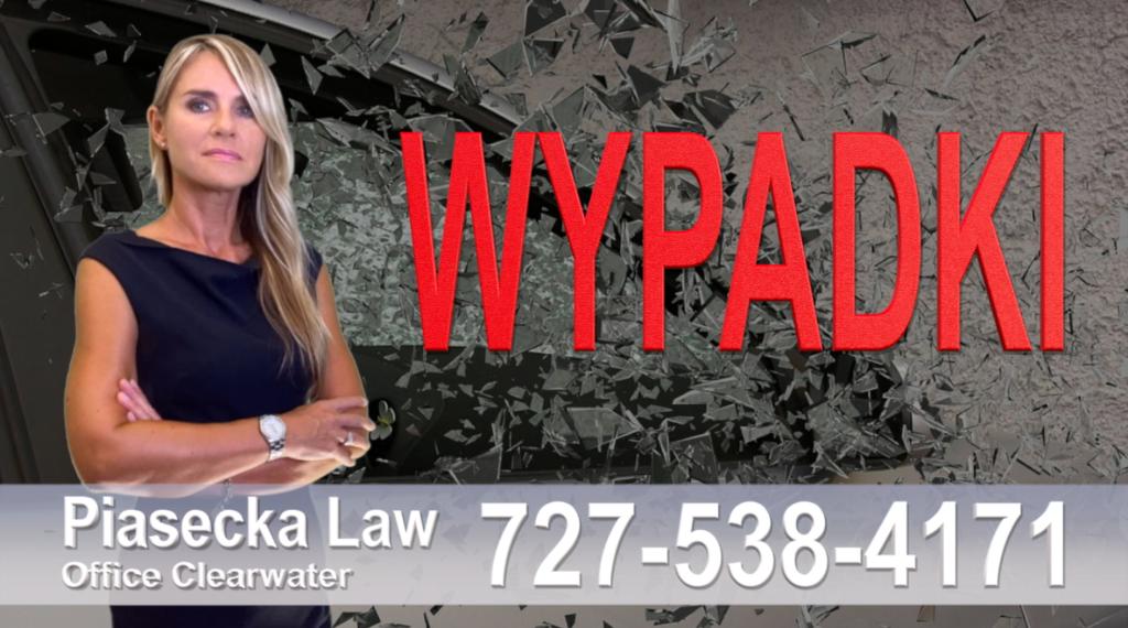 Parrish Wypadki, Odszkodowania, Accidents, Personal Injury, Florida, Attorney, Lawyer, Agnieszka Piasecka, Aga Piasecka, Piasecka