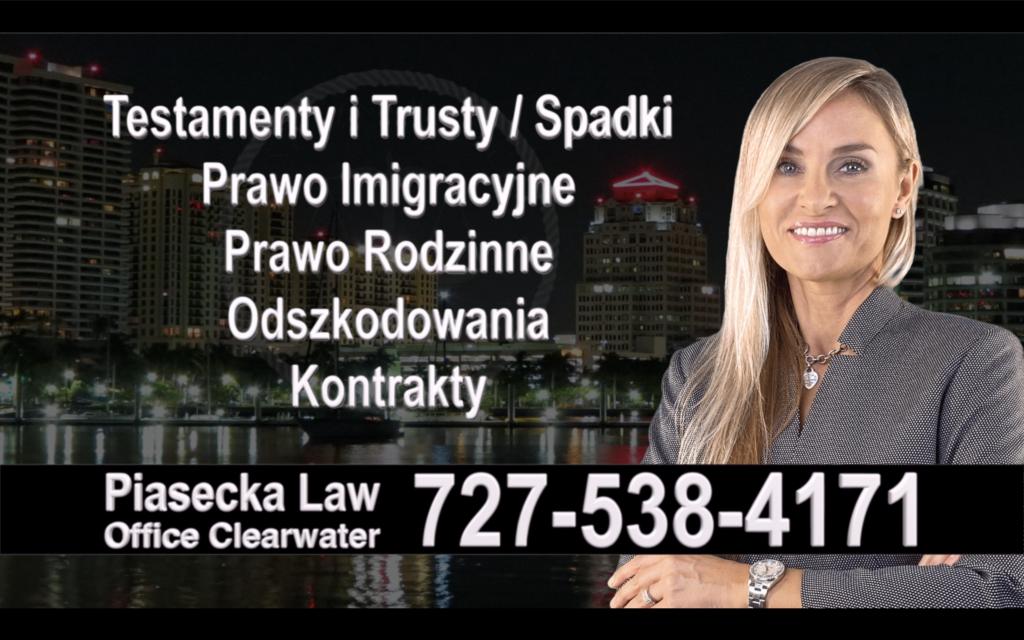 Apollo Beach Polski, Prawnik, Adwokat, Testamenty, Trusty, Testament, Trust, Prawo, Spadkowe, Imigracyjne, Rodzinne, Rozwód, Wypadki, Agnieszka Piasecka
