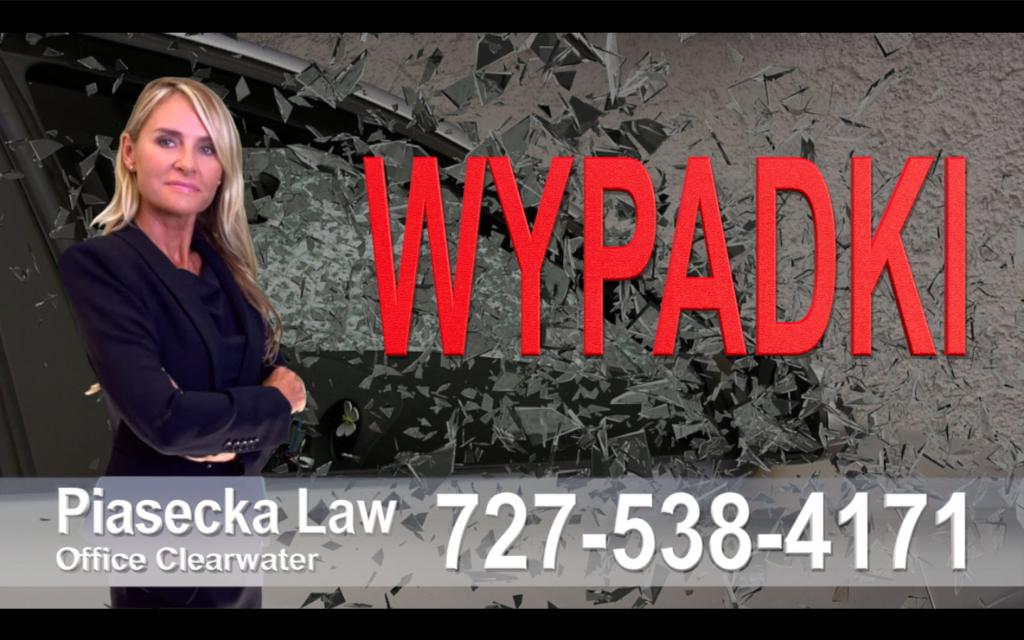 Bradenton Wypadki, Odszkodowania, Accidents, Personal Injury, Florida, Attorney, Lawyer, Agnieszka Piasecka, Aga Piasecka, Piasecka
