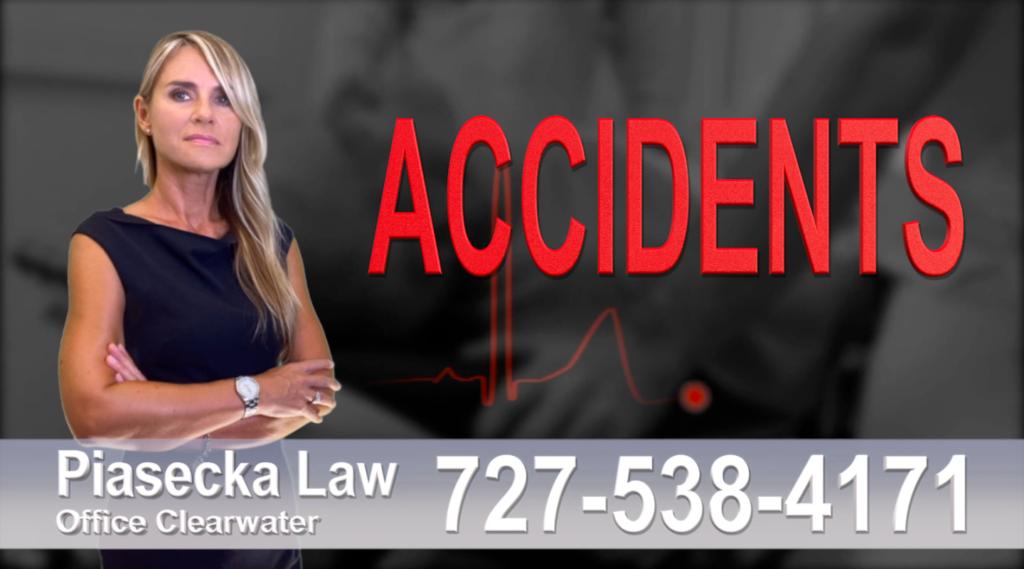 Venice Accidents, Personal Injury, Florida, Attorney, Lawyer, Agnieszka Piasecka, Aga Piasecka, Piasecka