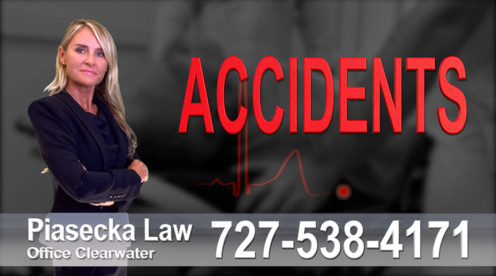 Saint Petersburg Accidents, Personal Injury, Florida, Attorney, Lawyer, Agnieszka Piasecka, Aga Piasecka, Piasecka, wypadki, autoaccidents