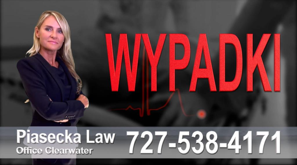 Palm Harbor Accidents, Personal Injury, Florida, Attorney, Lawyer, Agnieszka Piasecka, Aga Piasecka, Piasecka, wypadki samochodowe