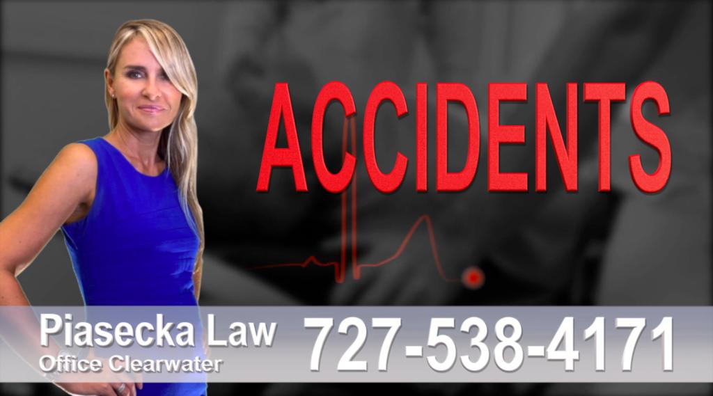 St. Pete Beach Personal injury, Accidents, Personal Injury, Florida, Attorney, Lawyer, Agnieszka Piasecka, Aga Piasecka, Piasecka, wypadki