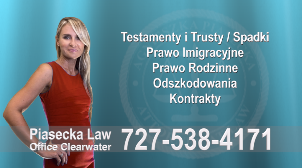 Town 'N Country Polski, Adwokat, Prawnik, Clearwater, Florida, Agnieszka, Aga, Piasecka