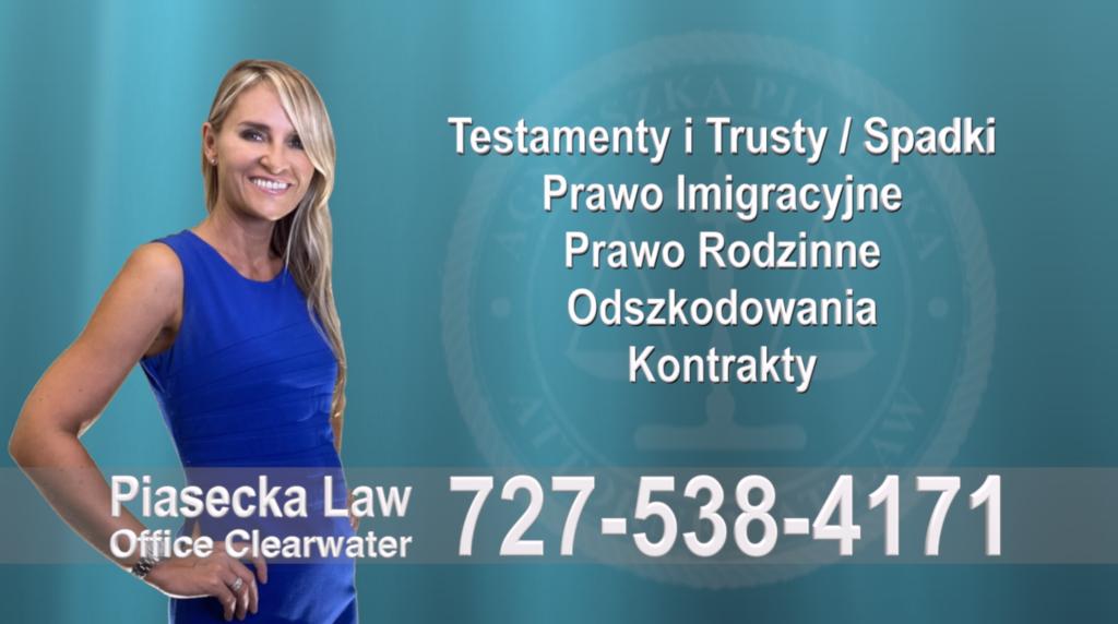 Turkey Creek Polski, Adwokat, Prawnik, Clearwater, Florida, Agnieszka, Aga, Piasecka