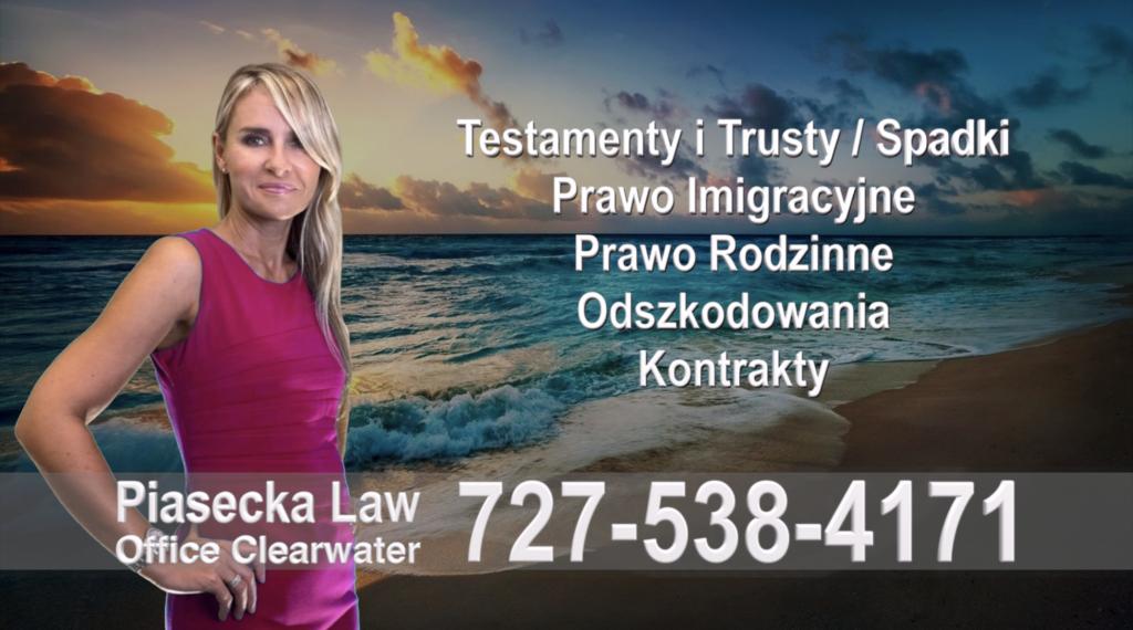 Holiday Testamenty, Trusty, Spadki, Prawo, Imigracyjne, Rodzinne, Odszkodowania, Wypadki, Kontrakty, Polski, Prawnik, Adwokat, Floryda, USA, Adwokaci, Prawnicy
