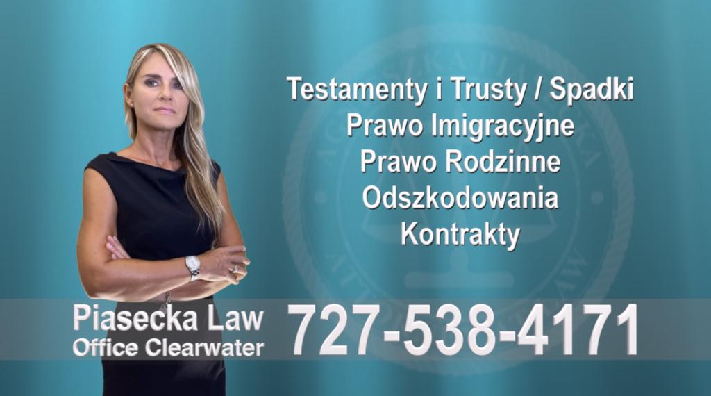 Hillsborough County Testamenty, Trusty, Spadki, Prawo, Imigracyjne, Rodzinne, Odszkodowania, Wypadki, Kontrakty, Polski, Prawnik, Adwokat, Floryda, USA, Polscy adwokaci