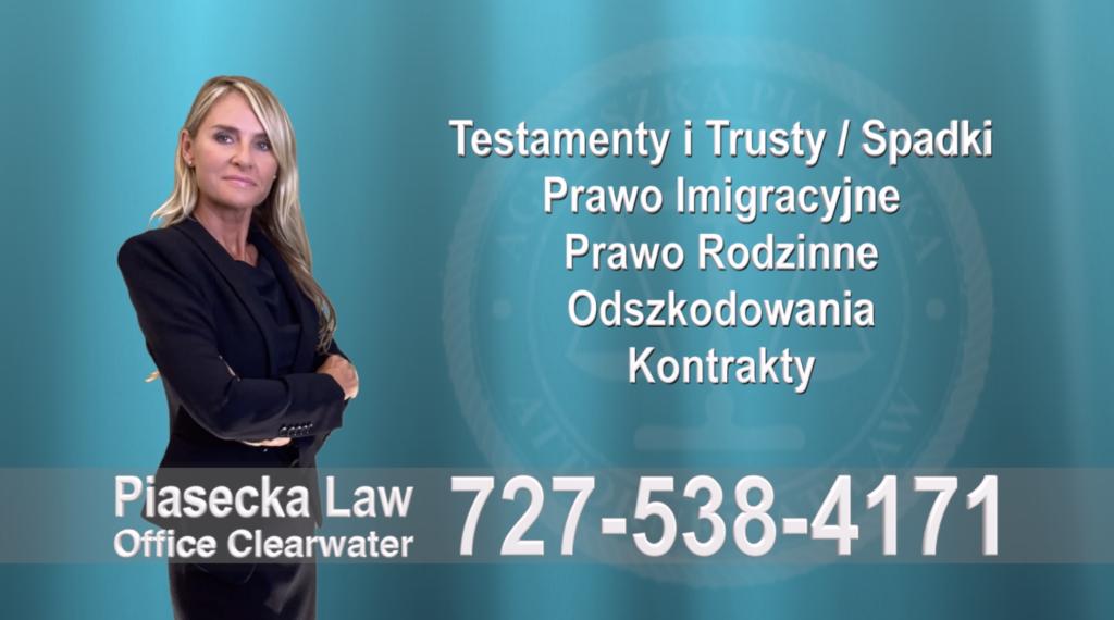 Hernando County Testamenty, Trusty, Spadki, Prawo, Imigracyjne, Rodzinne, Odszkodowania, Wypadki, Kontrakty, Polski, Prawnik, Adwokat, Floryda, USA, Polscy prawnicy i adwokaci
