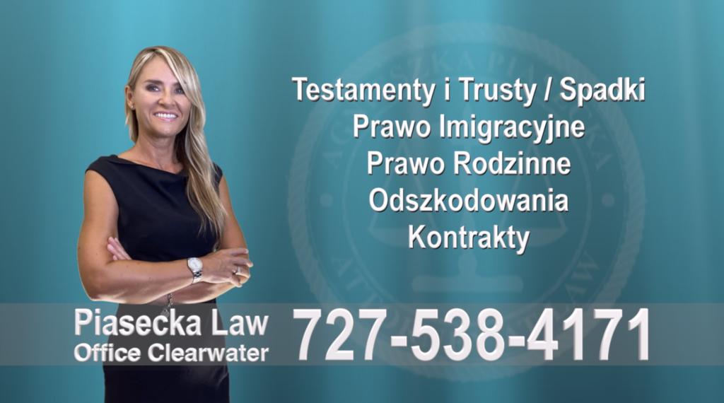 Greater Carrollwood Testamenty, Trusty, Spadki, Prawo, Imigracyjne, Rodzinne, Odszkodowania, Wypadki, Polski, Prawnik, Adwokat, Floryda, USA