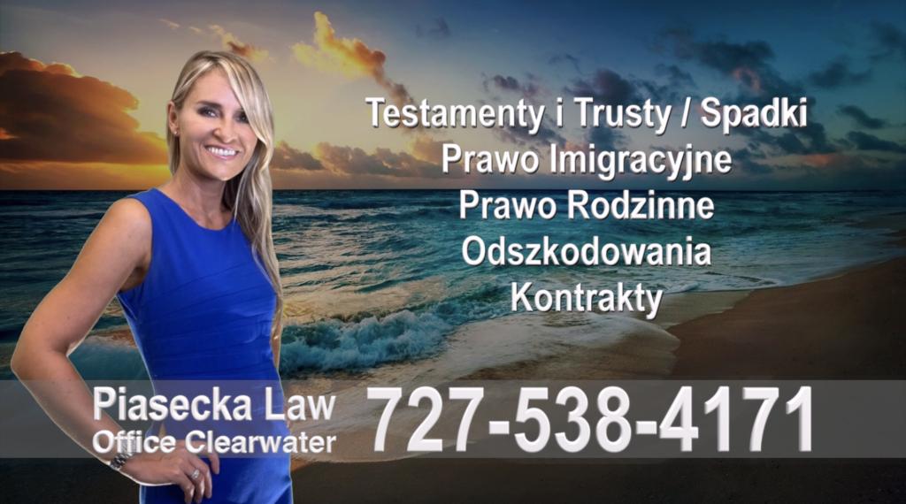 Safety Harbor Testamenty, Trusty, Spadki, Prawo, Imigracyjne, Rodzinne, Odszkodowania za Wypadki, Kontrakty, Polski, Prawnik, Adwokat, Floryda, USA