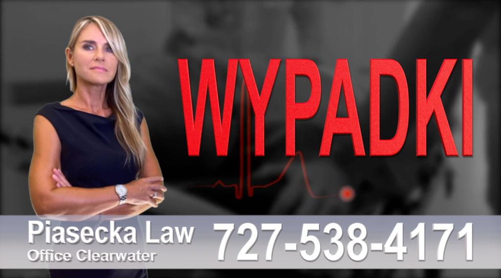 Osprey WYPADKI, Accidents, Personal Injury, Florida, Attorney, Lawyer, Agnieszka Piasecka, Aga Piasecka, Piasecka, wypadki