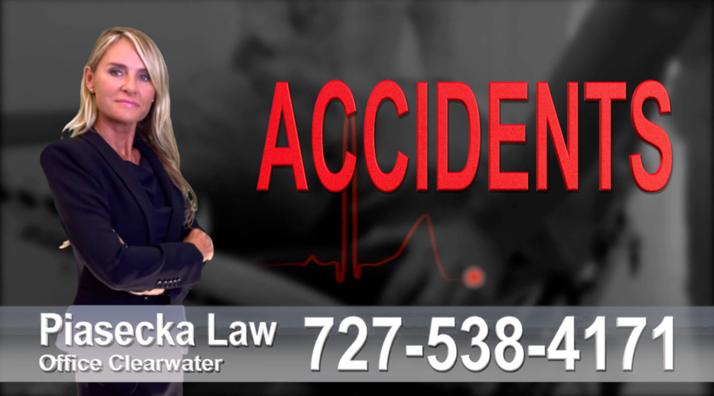 Saint Petersburg auto Accidents, Personal Injury, Florida, Attorney, Lawyer, Agnieszka Piasecka, Aga Piasecka, Piasecka, wypadki