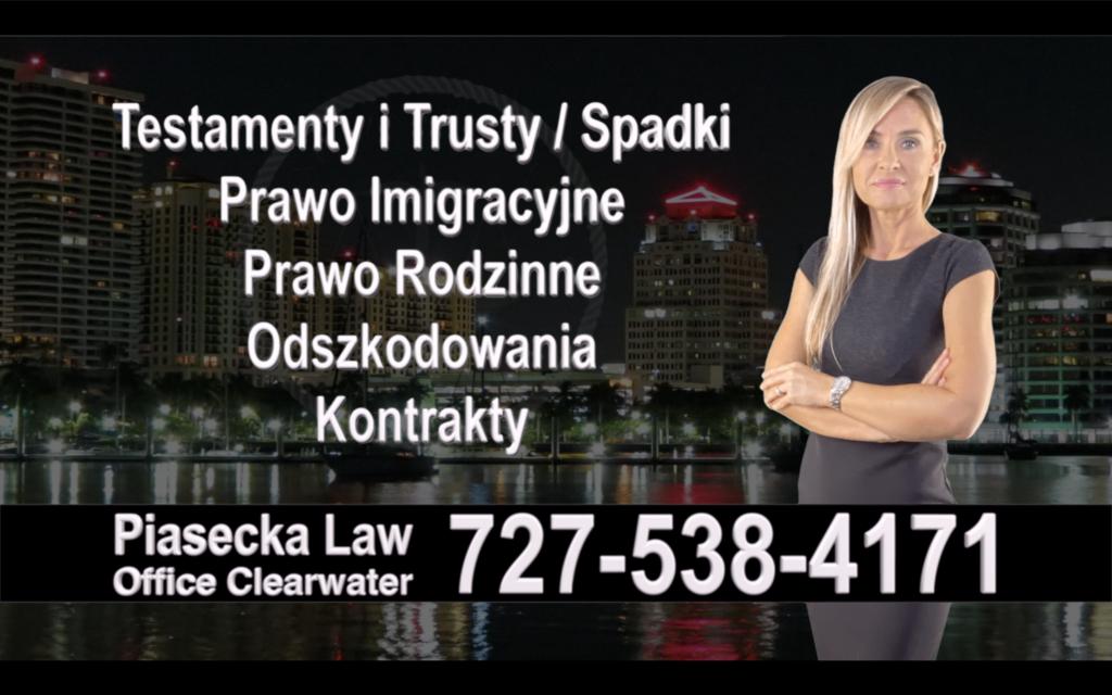 Saint Petersburg Polski, Prawnik, Adwokat, Testamenty, Trusty, Testament, Trust, Prawo, Spadkowe, Imigracyjne, Rodzinne, Rozwód, Wypadki, Agnieszka Piasecka