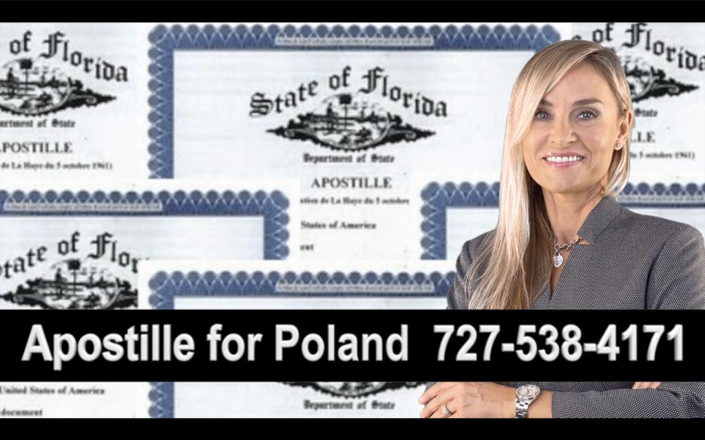 Brandon Apostille, Notary, Polish, Polski, Notariusz, Pełnomocnictwo, Power of Attorney, Agnieszka Piasecka, Aga Piasecka